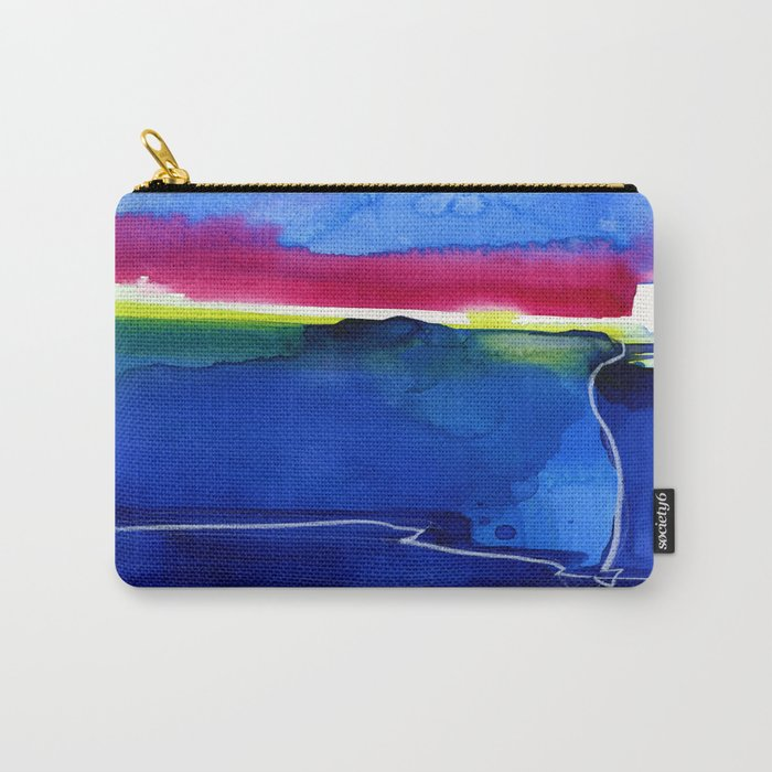 Meditations 33 by Kathy Morton Stanion Carry-All Pouch