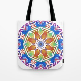 Magic Kaleidoscope Tote Bag