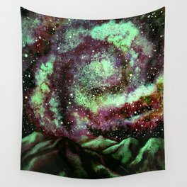 The Night Comet, Green Wall Tapestry