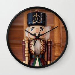 Nutcracker Photography Print Wall Clock