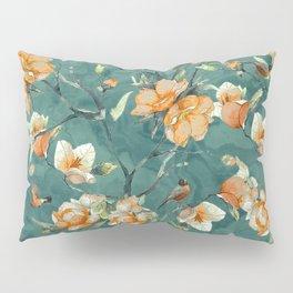 Flowers & Birds Pillow Sham