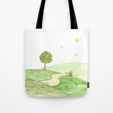 The little Prince and the Fox Tote Bag