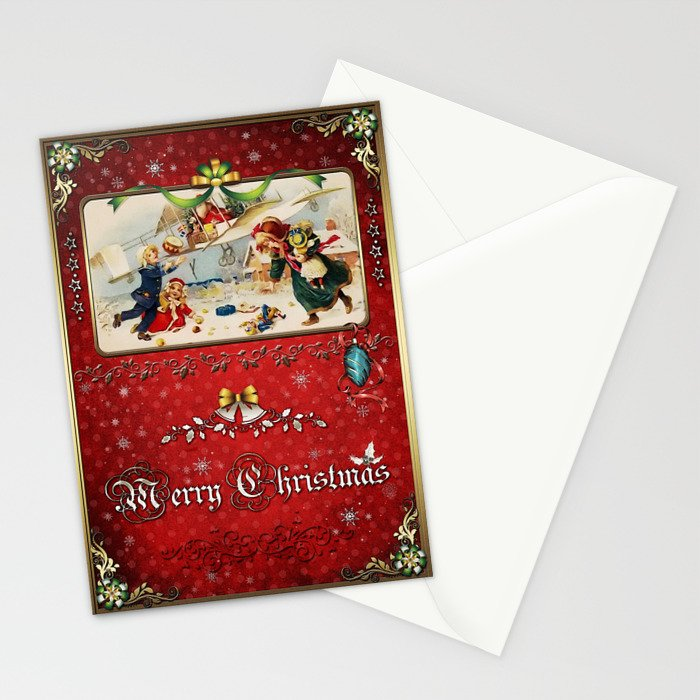 Christmas Holidays 005 Stationery Cards