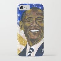 obama iPhone & iPod Cases featuring Obama by Stan Kwong