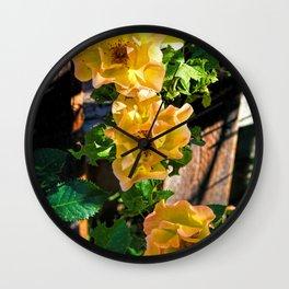 Rosy Sunrise Wall Clock