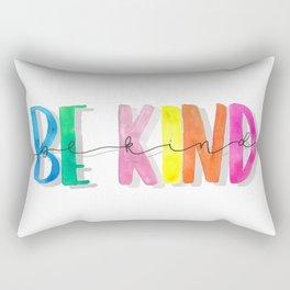 Be Kind Print | Bright Prints | Kind Tribe | Be Kind Rectangular Pillow