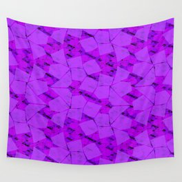 Funky Town (Purplish) Wall Tapestry