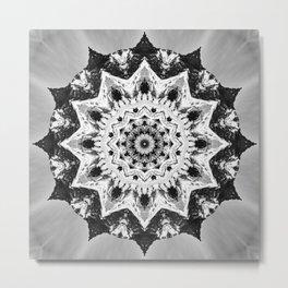 Snowy Hilltop Metal Print