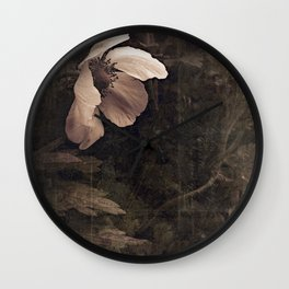 butterfly anemone Wall Clock