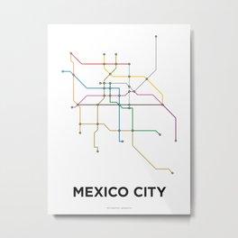 Metro DF Metal Print
