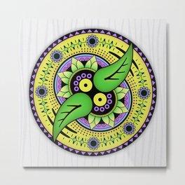 Mandala Balancing Metal Print