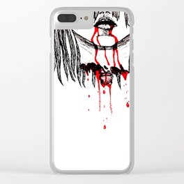 BLOODING Clear iPhone Case