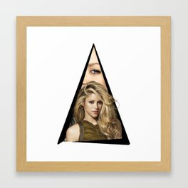 Youtriangle ∆ Shakiraa Framed Art Print