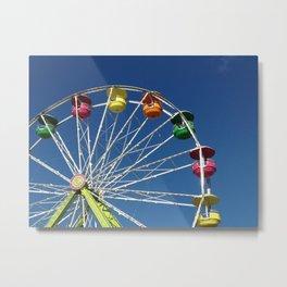 Ferris Wheel at Minnesota State Fair Metal Print