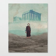 Mrs. Loneliness Canvas Print