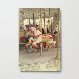 Paris, The Tuileries Garden - Carousel Metal Print