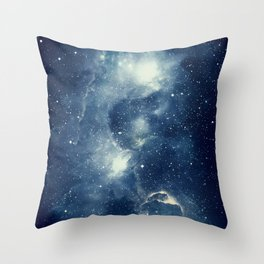 Galaxy Next Door Throw Pillow