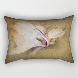 Beautiful Swan Song - Flower still life Rectangular Pillow