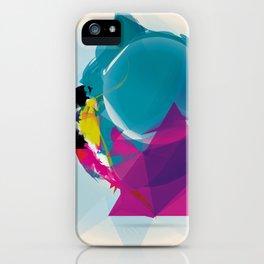 Compressed Colour iPhone Case