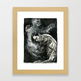 the great laws of the universe Framed Art Print