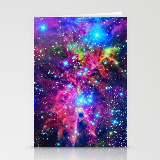 Astral Nebula Stationery Cards