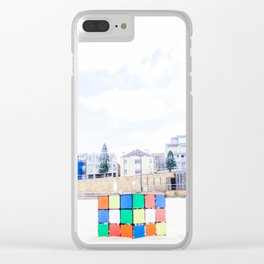The Cube at Maroubra Beach Clear iPhone Case