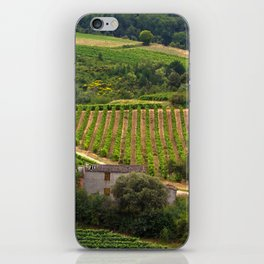 landscape in southern france 2 iPhone Skin