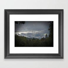 Brewing Storm  Framed Art Print