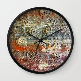 Mechanical Gear Abstract Wall Clock