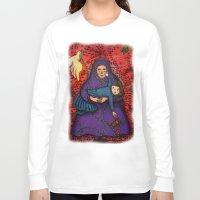 war Long Sleeve T-shirts featuring War by Helen C.Y. Yau