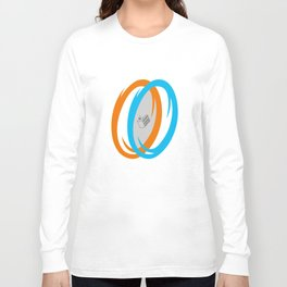 PAUSE – Cake, It's a Lie Long Sleeve T-shirt