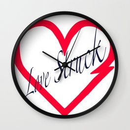 Love Struck Impact Wall Clock