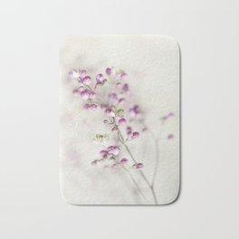 pink flower Bath Mat