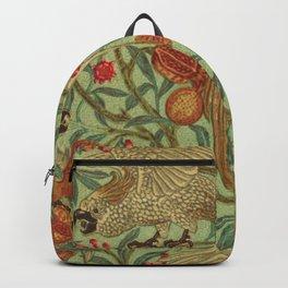 Bird And Pomegranate Wallpaper Design Backpack