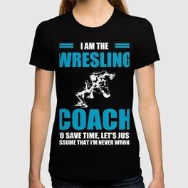 Cool Shirt For Wrestling Coach. T-shirt