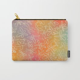 MISTY FIELD OF FLOWERS Carry-All Pouch