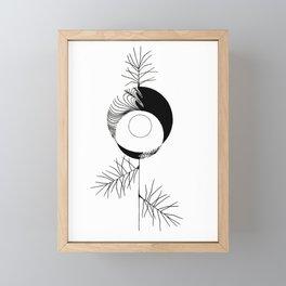 Pine Framed Mini Art Print
