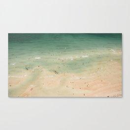 South Beach Aerial Canvas Print