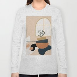 Plant in a Pot Long Sleeve T-shirt