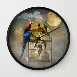 Free for now Wall Clock