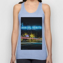 Normal Heights (San Diego) Sign - SD Signs Series #2 Unisex Tank Top