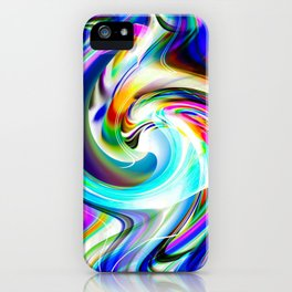 Abstract perfection - Circle 1 iPhone Case