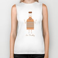 whisky Biker Tanks featuring Le Ouisky by Teo Zirinis