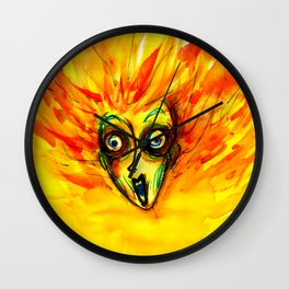 The Grazy Woman Wall Clock