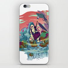 The Furious River Goddess iPhone & iPod Skin
