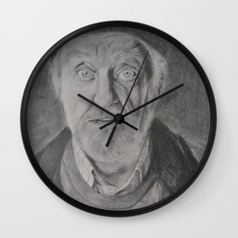 Wilfred Mott, Donna Noble's grandad from Doctor Who Wall Clock