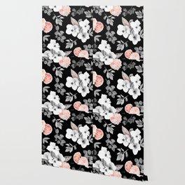 Night bloom - moonlit flame Wallpaper