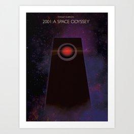 2001: A Space Oddysey Art Print