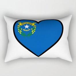 Love Nevada Rectangular Pillow