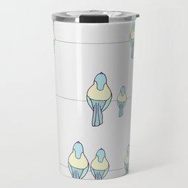 Birds on the line Travel Mug